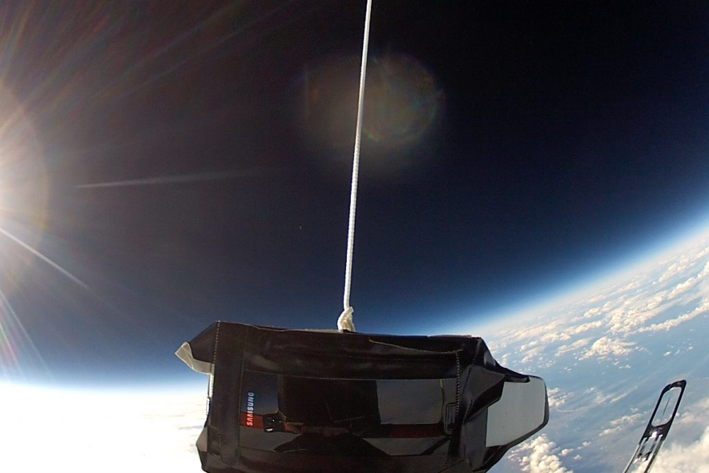 Tweets in Space